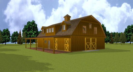 10x12 gambrel shed plans custom cars chellsia for Gambrel barn house plans
