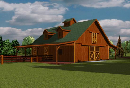 Barns and buildings quality barns and buildings horse for Small metal barn homes