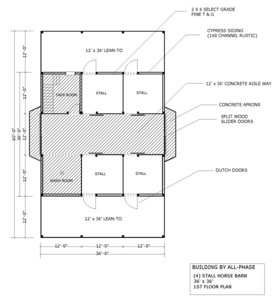 Barn loft apartment floor plans details famin Pole barn house blueprints
