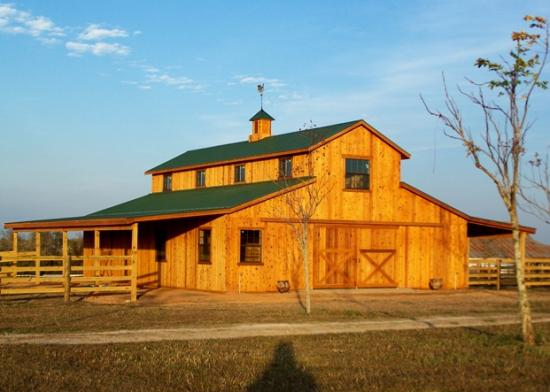 Pin 36x36 Horse Barn Plan On Pinterest