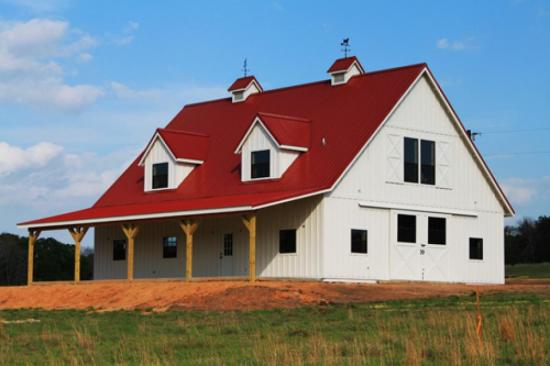 Shedoi pole barn house and garage plans must see for Small metal barn homes