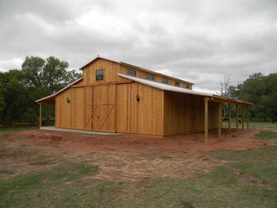 Western Raised Center Pole Barn House Joy Studio Design