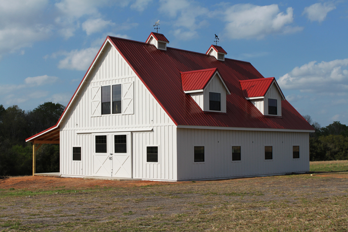 residential barn house home pole metal cleary building corp portfolio barns