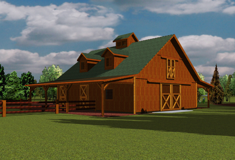 Barn House Plans And Prices Furthermore Hip Roof Barn House Plans