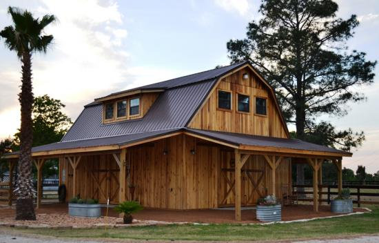 2 Story Pole Barn Kit