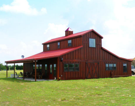 Barns and buildings quality barns and buildings horse for Metal pole barn house plans