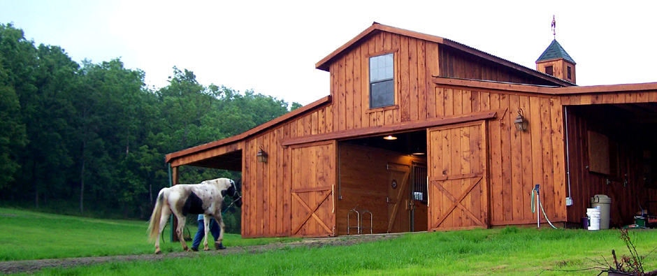 Barns and buildings quality barns and buildings horse for Build your own pole barn